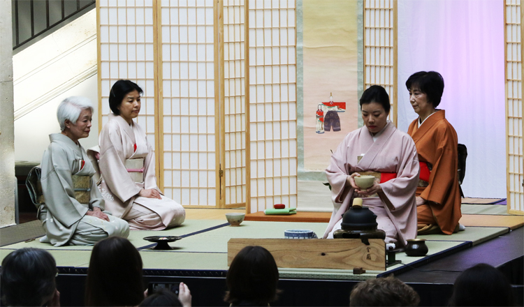 Scene of Tea Ceremony