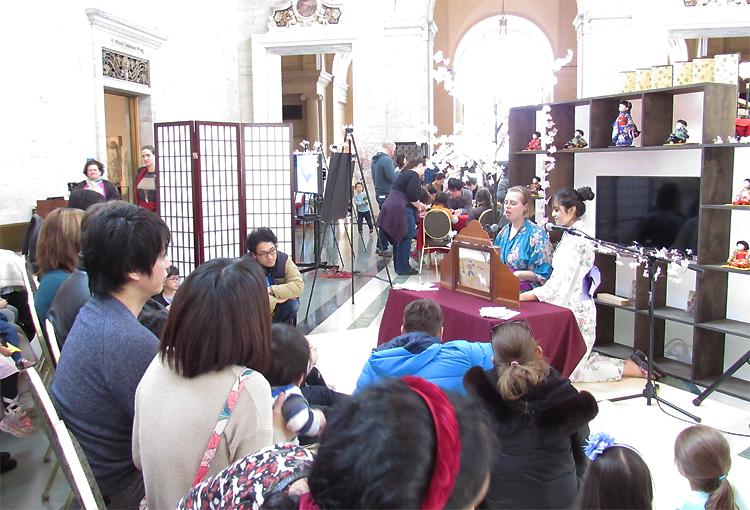 Story Telling of Japanese Folk tales; Hanasaka Jiisan and Kaguya Hime